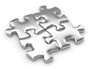 puzzle quattro pezzi